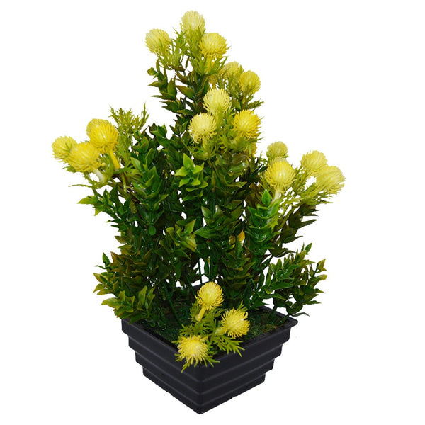 Artificial Formosan Plant in Square Step Pot - Fancy Mart