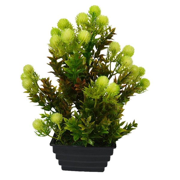 Artificial Formosan Plant in Square Step Pot