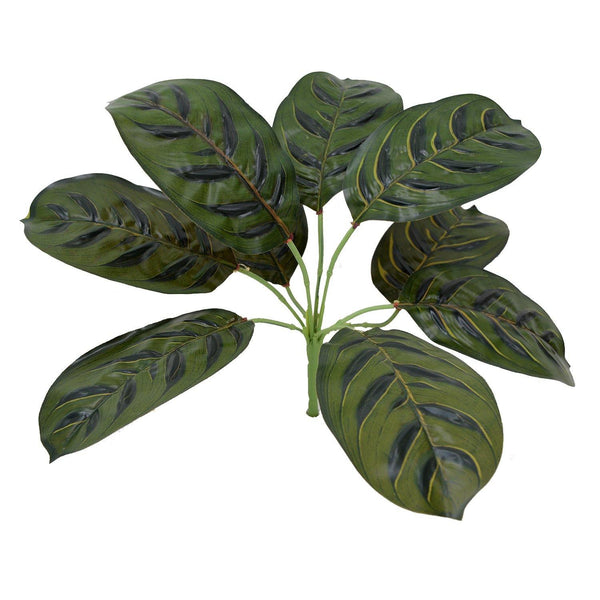 Artificial Plant with 9 Leaves Heads without pot - Fancy Mart