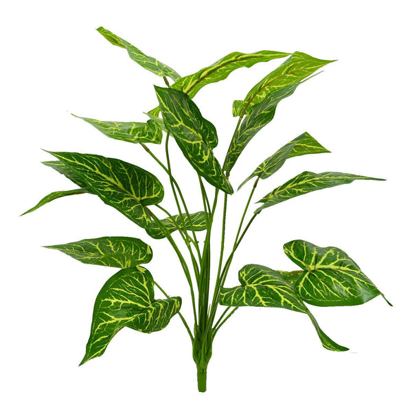 Artificial Plant with 18 Leaves Heads - Fancy Mart