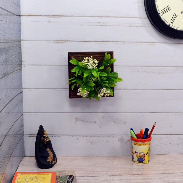 Artificial Beads Plant Wall Hanging Panel - Fancy Mart