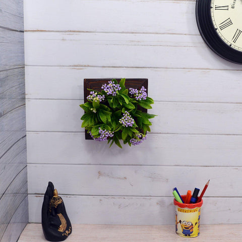 Artificial Beads Plant Wall Hanging Panel