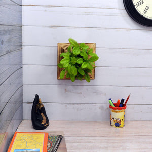 Artificial Citrus Plant Wall Hanging Panel