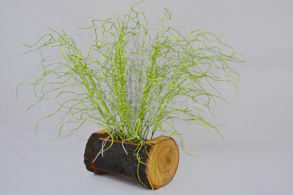 Artificial Decorative Sticks in Wood Buckle Pot-1