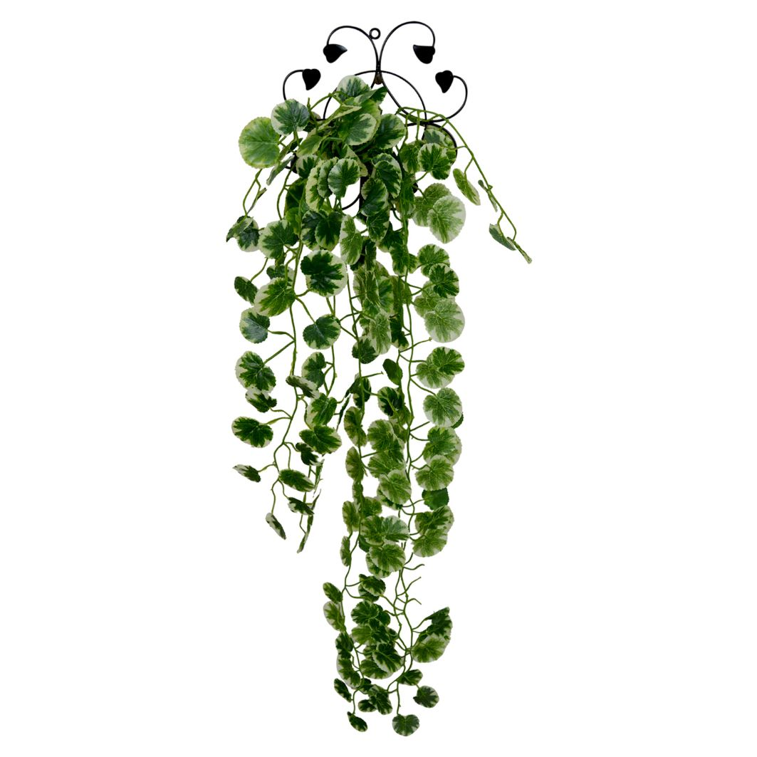 Artificial Hanging Garden Leaf Plant with Net
