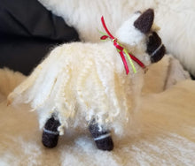 Load image into Gallery viewer, Handmade Felted Valais Blacknose Sheep
