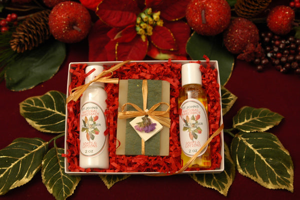 Liquid, Lotion & Bar Soap Box Set
