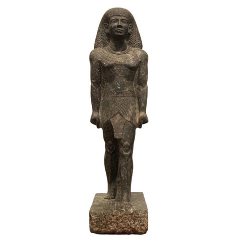 Egyptian Pharaoh Granite Sculpture