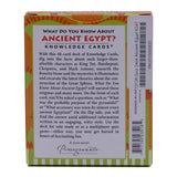 Ancient Egypt Knowledge Cards