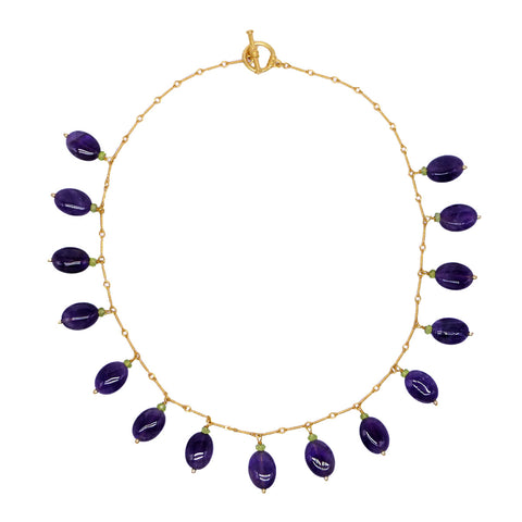 Classical Amethyst Necklace