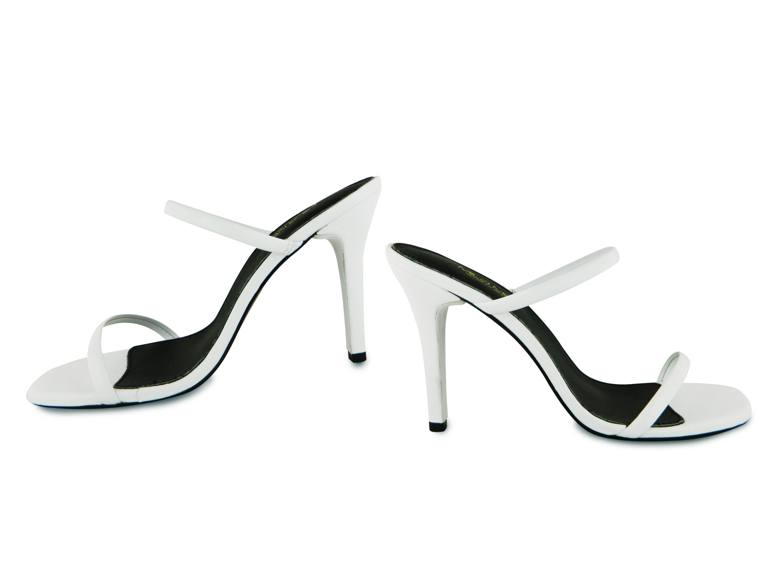 JANE HEEL, WHITE