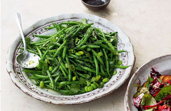 OTTOLENGHI TWO BEAN + TWO LIME SALAD