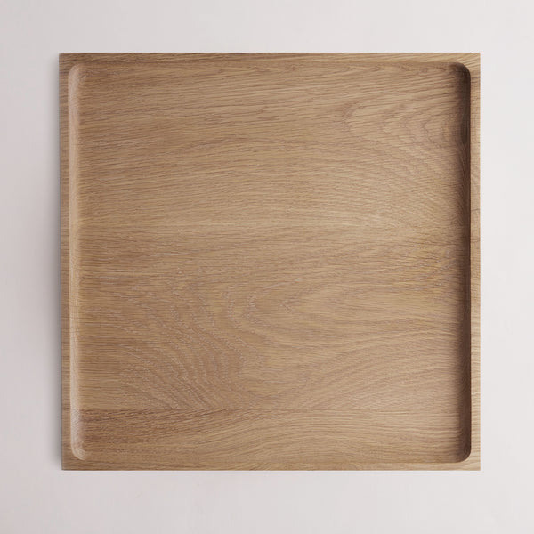 Solid Oak Platter