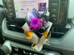 Preserved Flower Car Decoration