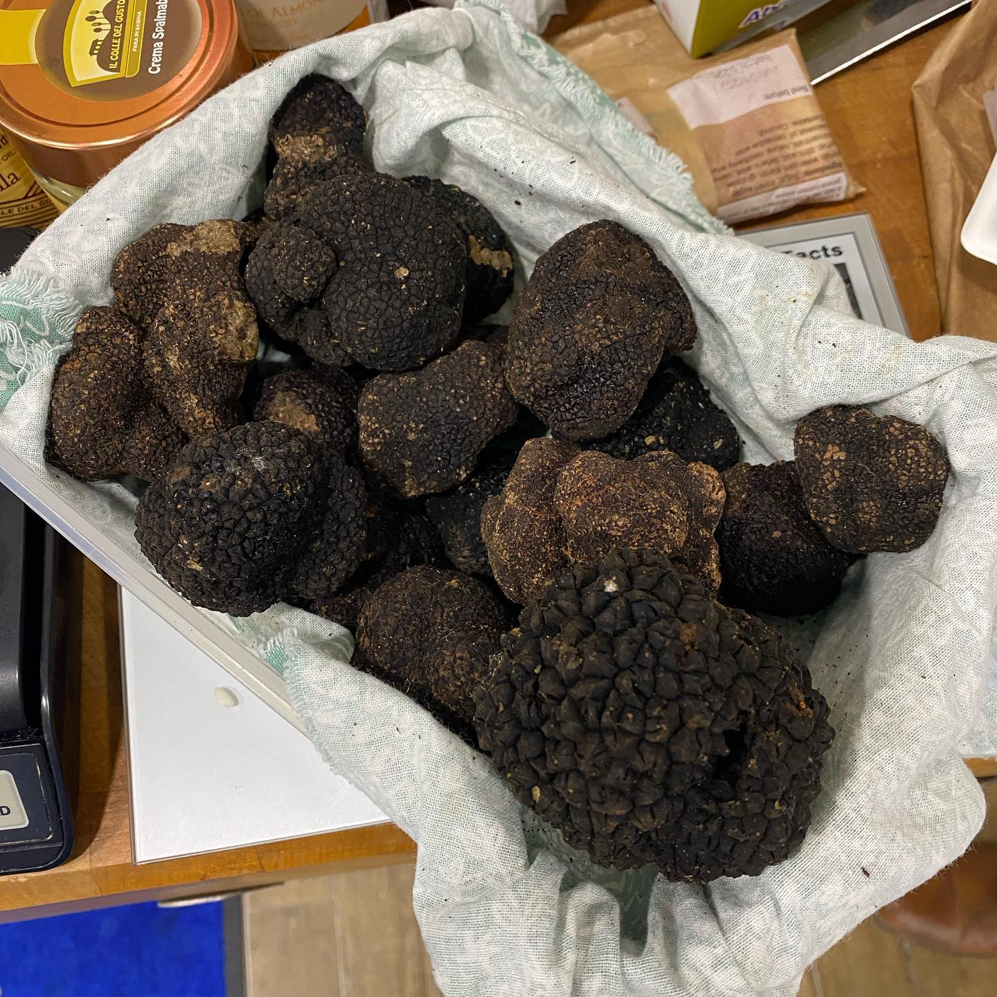 Fresh Black Winter Truffles (Imported from Italy)
