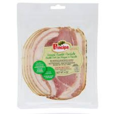Principe Uncured Roasted Pre-Sliced Porchetta Antibiotic Free 4 oz