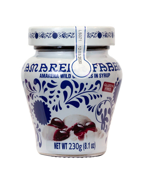 Fabbri Amarena Cherries in Syrup 230g Glass Jar