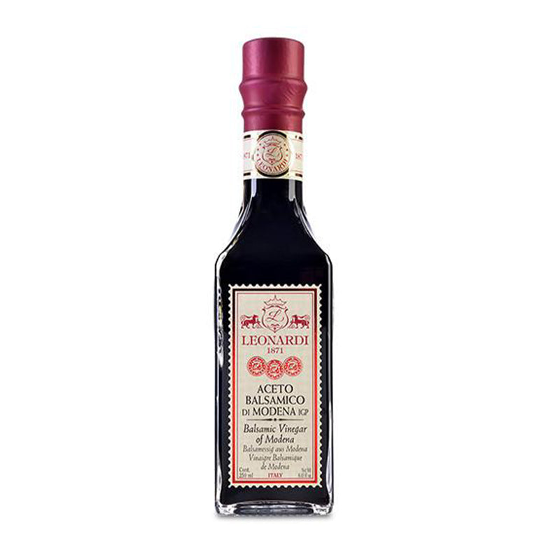 Acetaia Leonardi Balsamic Vinegar Francobolli Red Seal 250mL