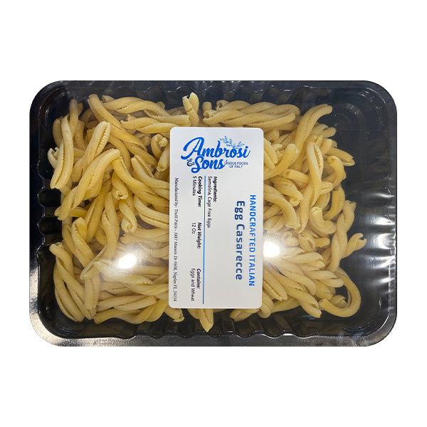 Ambrosi & Sons Fresh Egg Casarecce Pasta 12oz