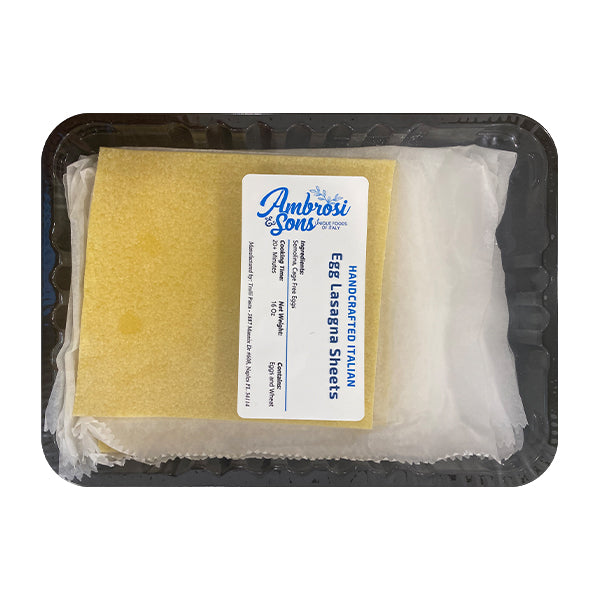 Ambrosi & Sons Fresh Egg Lasagna Pasta 16oz