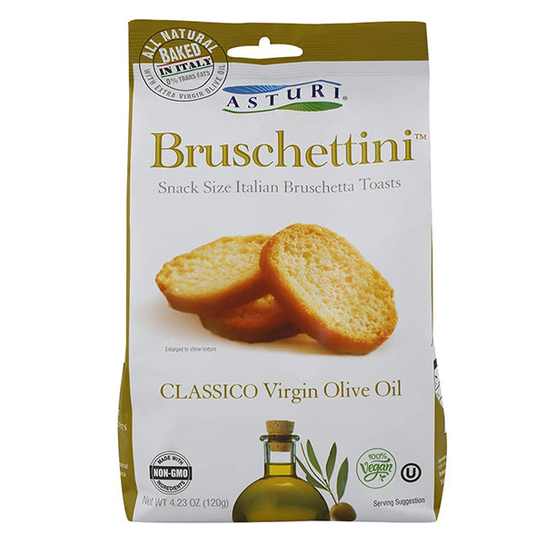 Asturi Bruschettini Classico Extra Virgin Olive Oil 4.23oz