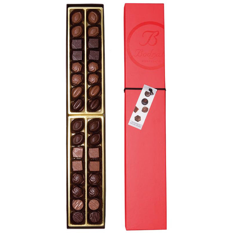 Bodrato Praline Selection in Red Box, 32 Units, 11.28 oz