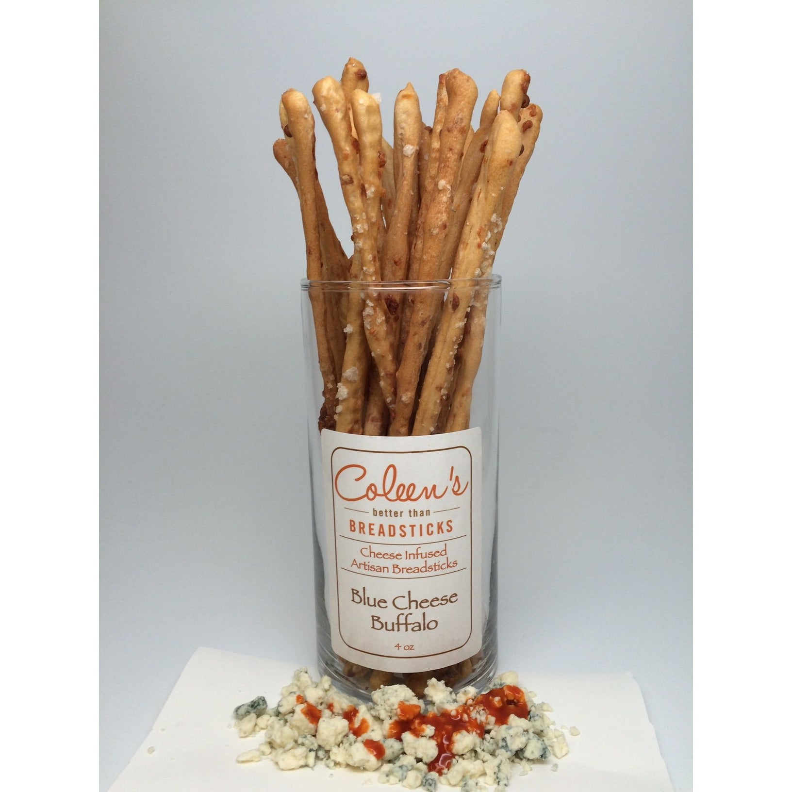 Coleen's Blue Cheese Buffalo Breadsticks 4oz