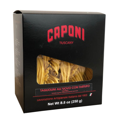 Caponi Egg Tagliolini with Truffle Hand Made 250g