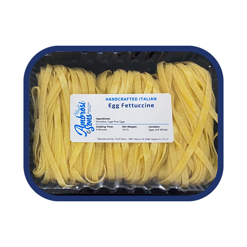 Fresh Egg Fettucine Pasta 16oz