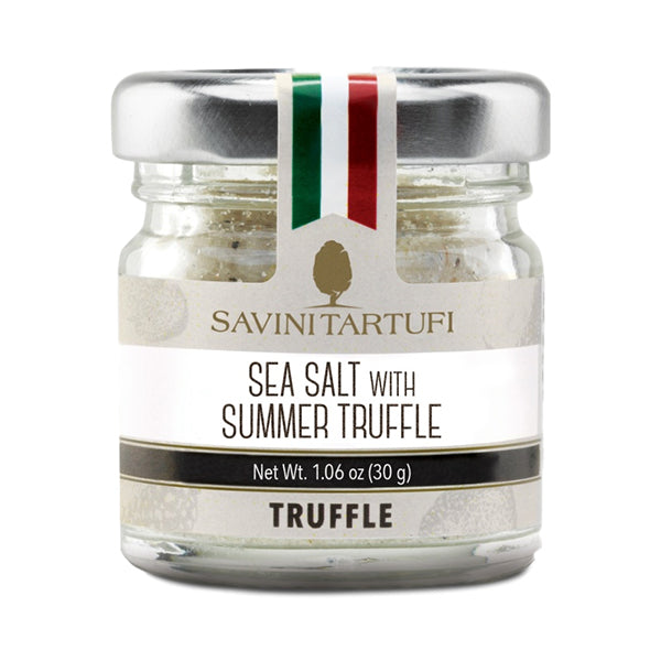 Savini Tartufi Sea Salt with Black Truffle 100g