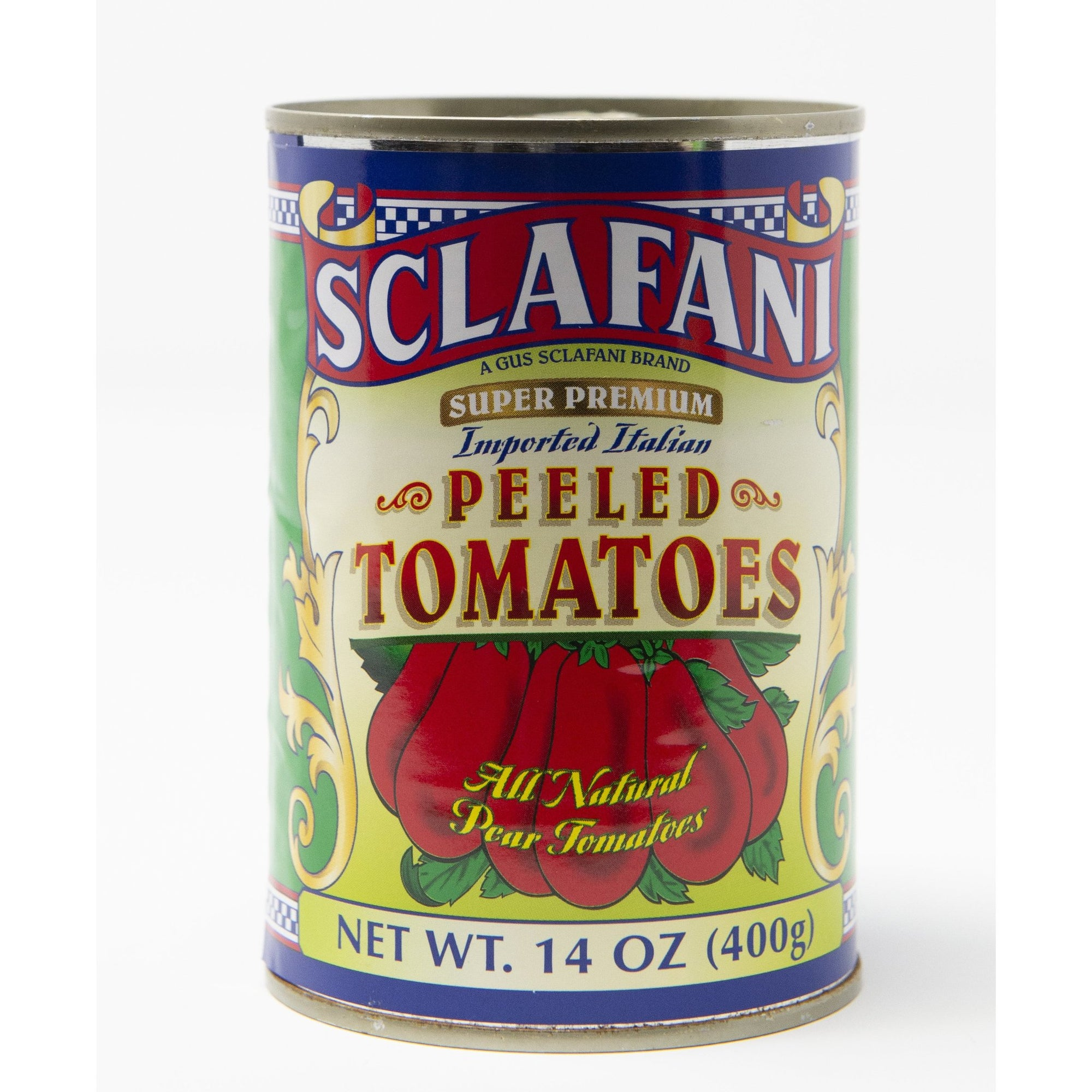 Sclafani Whole Peeled Tomatoes 14 oz.