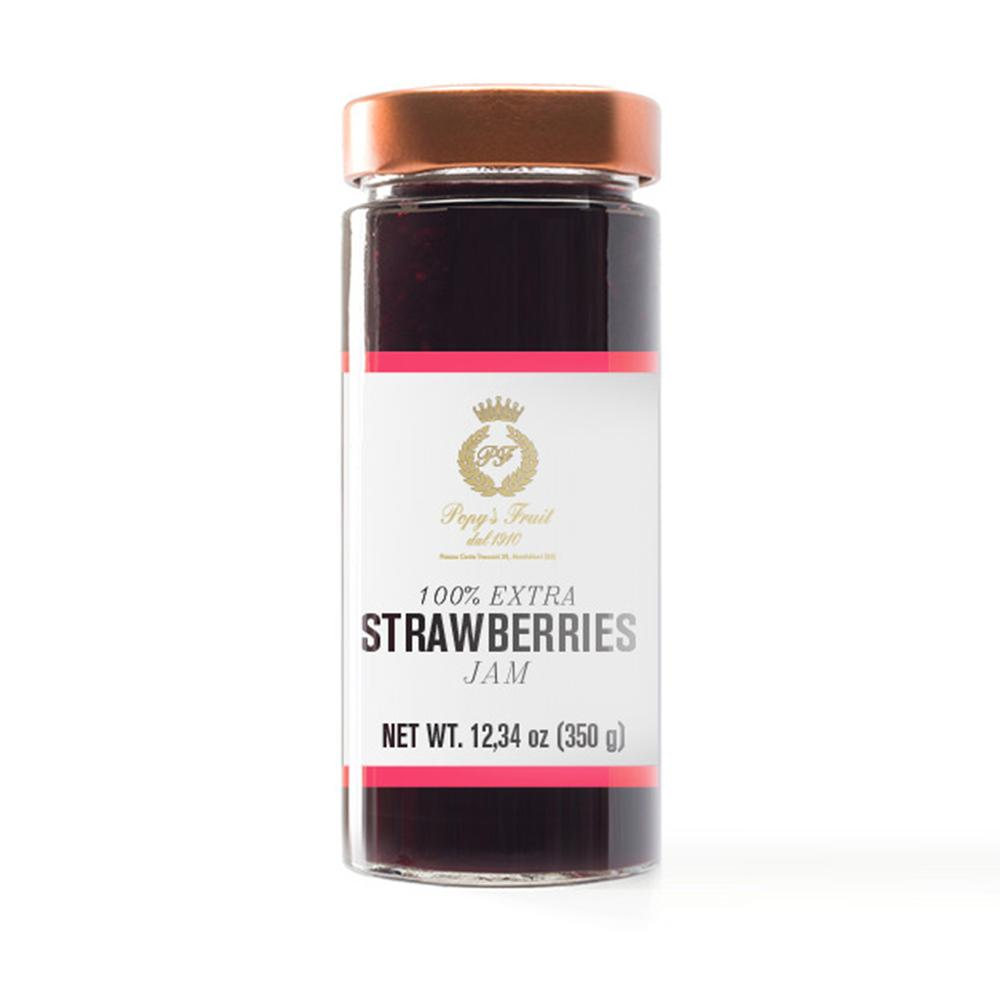 Popy's Fruit Strawberry Jam 350g