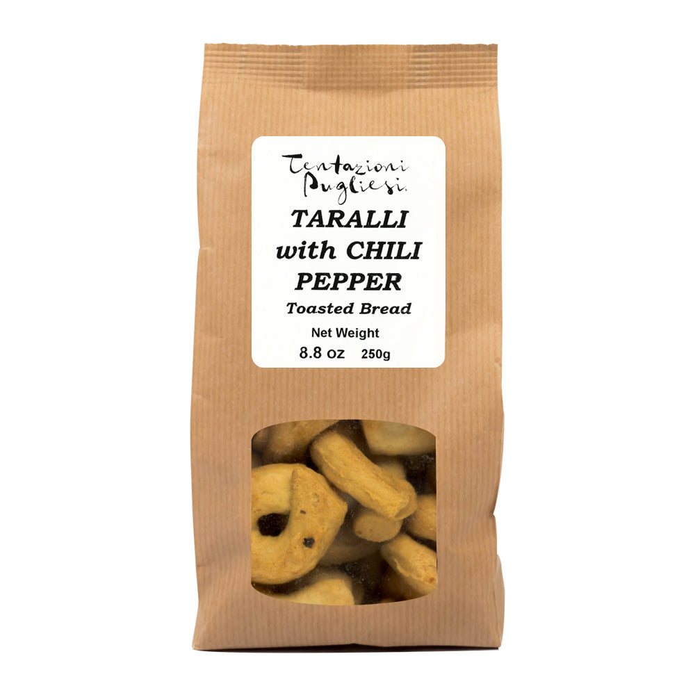 Taralli Pugliesi Hot Chili Pepper Taralli 250g