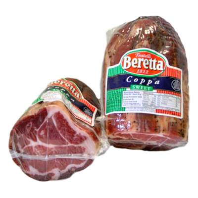 Beretta Dry Cured Coppa Sweet 16oz Piece
