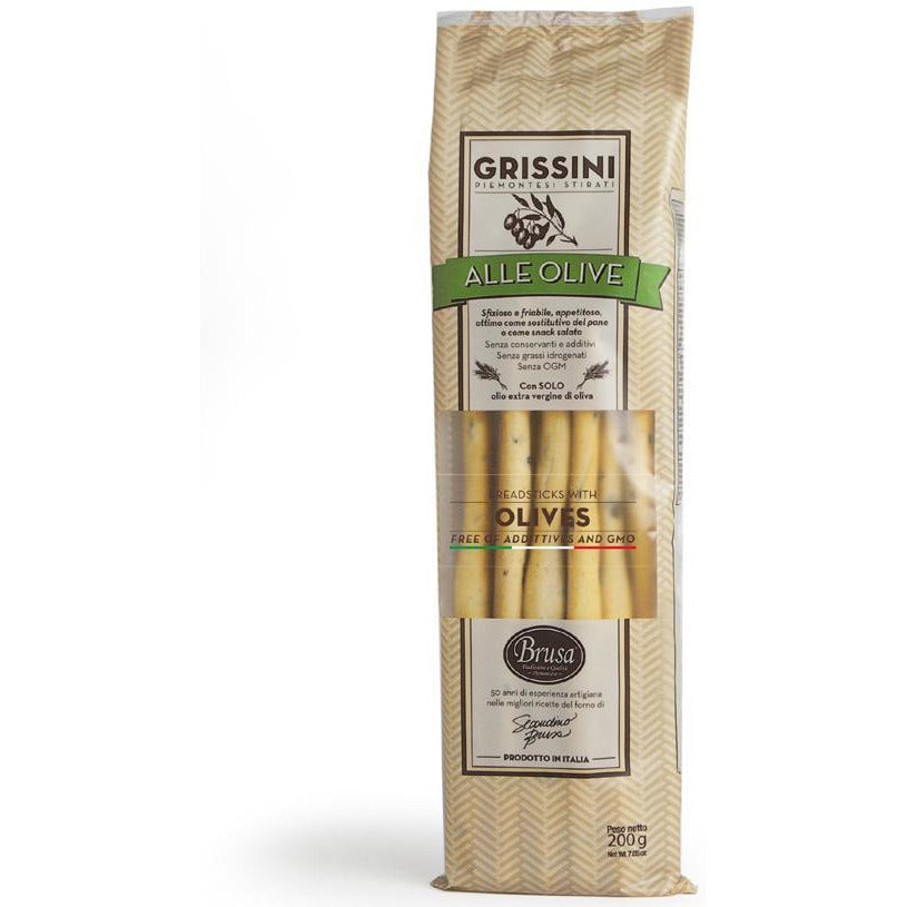 Brusa Breadsticks with Olives 7.05 oz.
