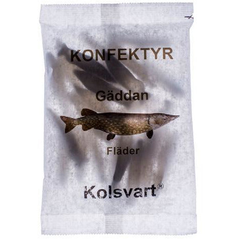 Kolsvart Gaddam (Pike) Elderflower Swedish Fish 4.2 oz