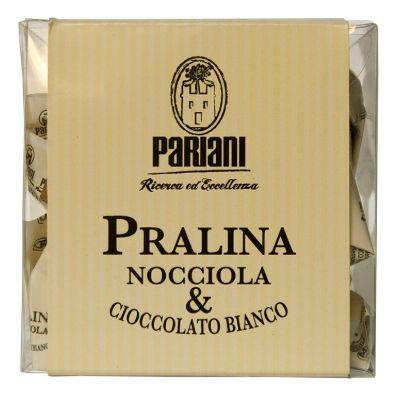 Pariani Hazelnut & White Chocolate Pralines 100g