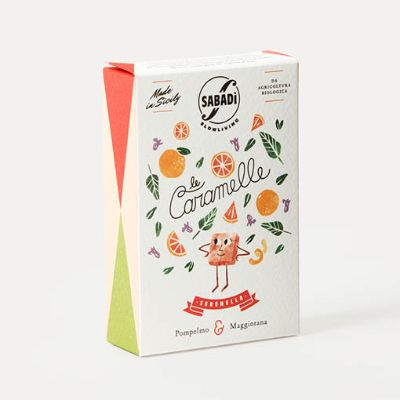 Sabadi Grapefruit & Marjoram Hard Candies 40g