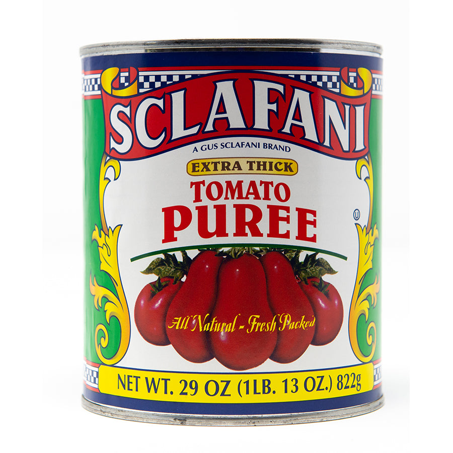 Sclafani California Tomato Puree 28 oz.