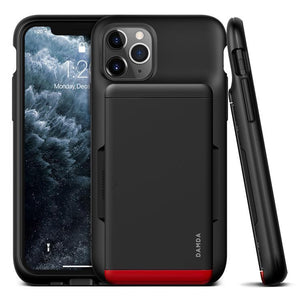 VRS Design Damda Glide Shield iPhone 11 Pro Case - Matte Black