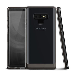 VRS Crystal Bumper Galaxy Note 9 Case - Metallic Black