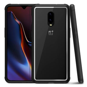 VRS Crystal Chrome OnePlus 6T Case - Black
