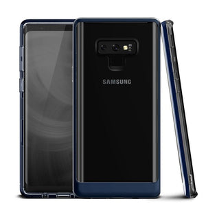 VRS Crystal Bumper Galaxy Note 9 Case - Deep Sea Blue