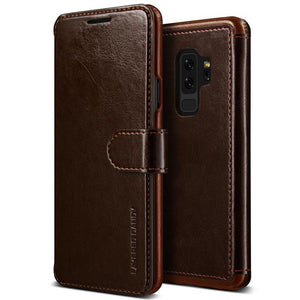 VRS Design Galaxy S9 Plus Case Layered Dandy Series - Coffee Brown