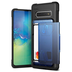 VRS Damda Shield Solid Galaxy S10+ Plus Case - Blue Black