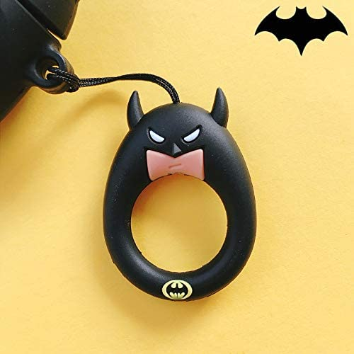 Soft Silicone Cover for Apple AirPods Charging Case - Batman Bundle