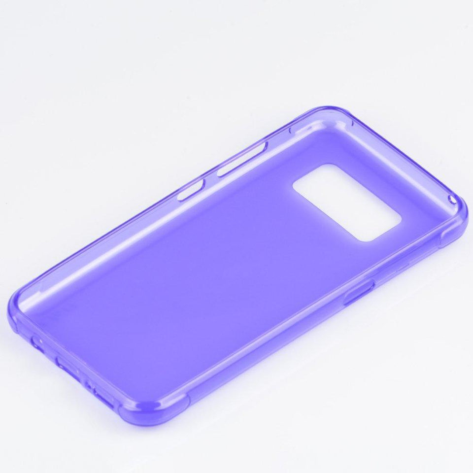 Shock Resistant Protective TPU Galaxy S8 Active Case - Purple