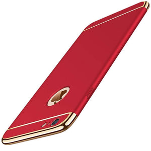 Ultra Thin Slim Hard Electroplated iPhone 6/6S (4.7in) Case - Red