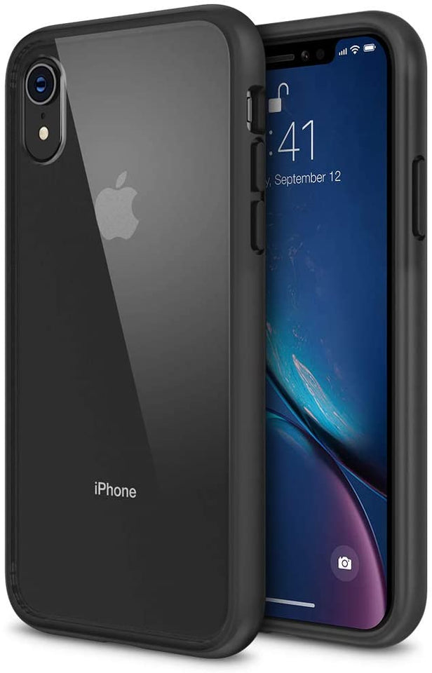 Maxboost HyperPro iPhone XR Case - Black/Clear