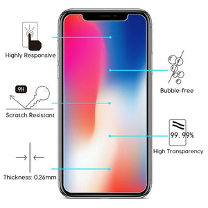 Case Friendly Screen Protector Tempered Glass iPhone 11 Pro (3 Pack)